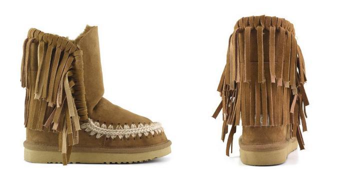 Botas de pelo Mou Eskimo Fringe
