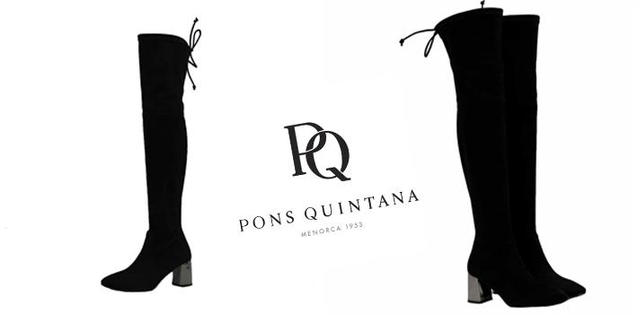 Botas mosqueteras de mujer Pons Quintana