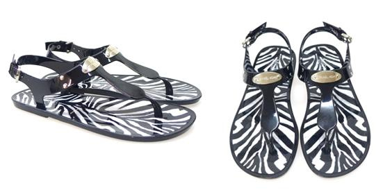 Chanclas Michael Kors Mk Plate Kelly