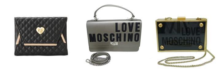 Complementos de invierno de mujer carteras Love Moschino