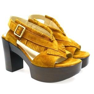 Sandalias en color cuero Jeannot