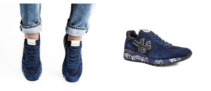 Zapatillas de hombre Premiata Mick 1787
