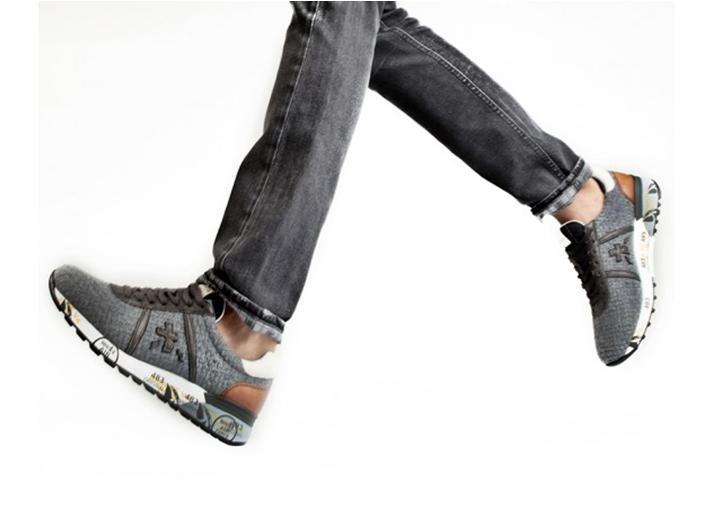 Zapatillas de hombre Premiata Morris 1667