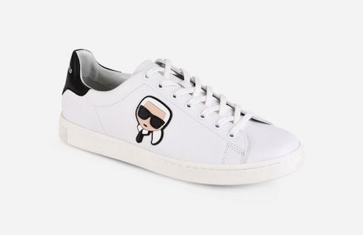 Zapato plano sneakers Karl Lagerfeld