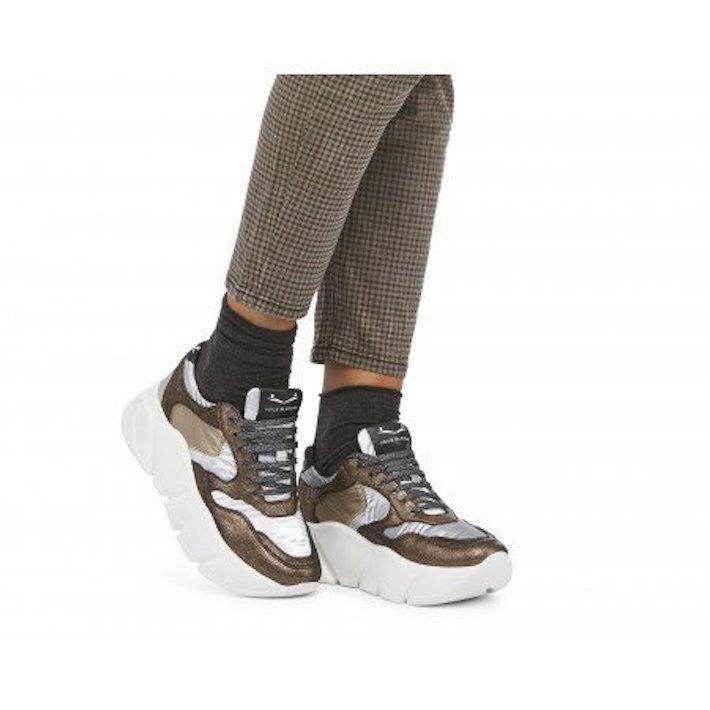 Zapato plano sneakers Voile Blanche