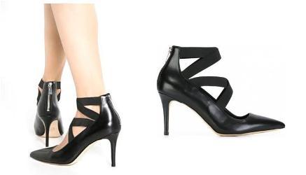 Zapatos atados tobillo