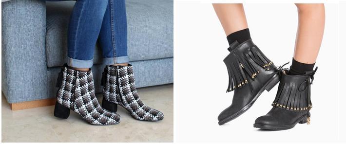 Zapatos en Zaragoza botines mujer