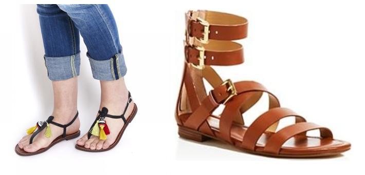 Zapatos en Zaragoza sandalias planas