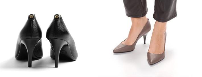 Zapatos Kitten Heels y Midi Michael Kors