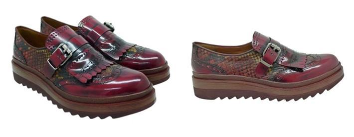 Zapatos y botines Pons Quintana burdeos