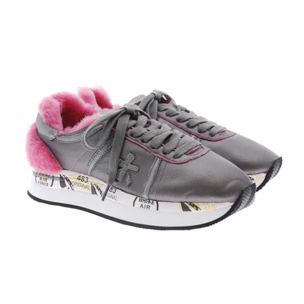 Sneakers mujer furry Premiata Conny