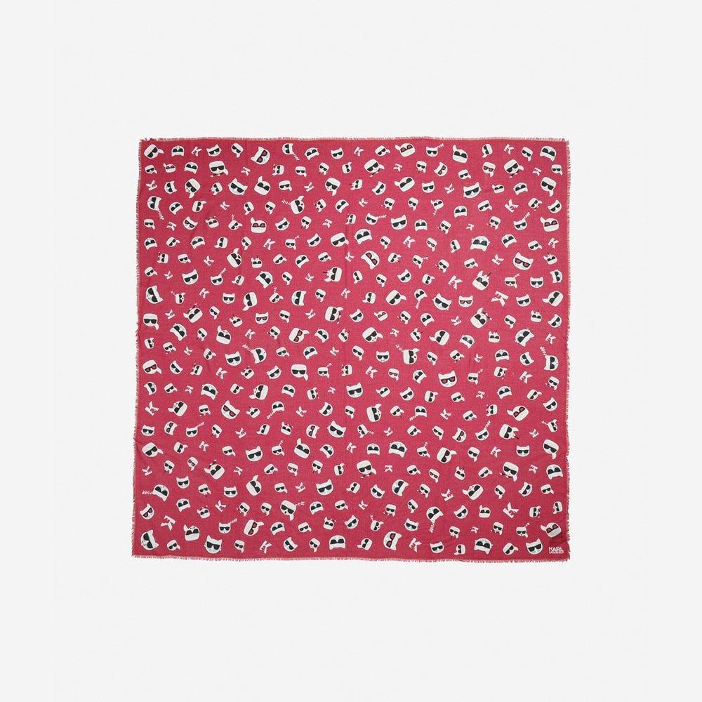 Pañuelo estampado Karl Lagerfeld 91KW3301
