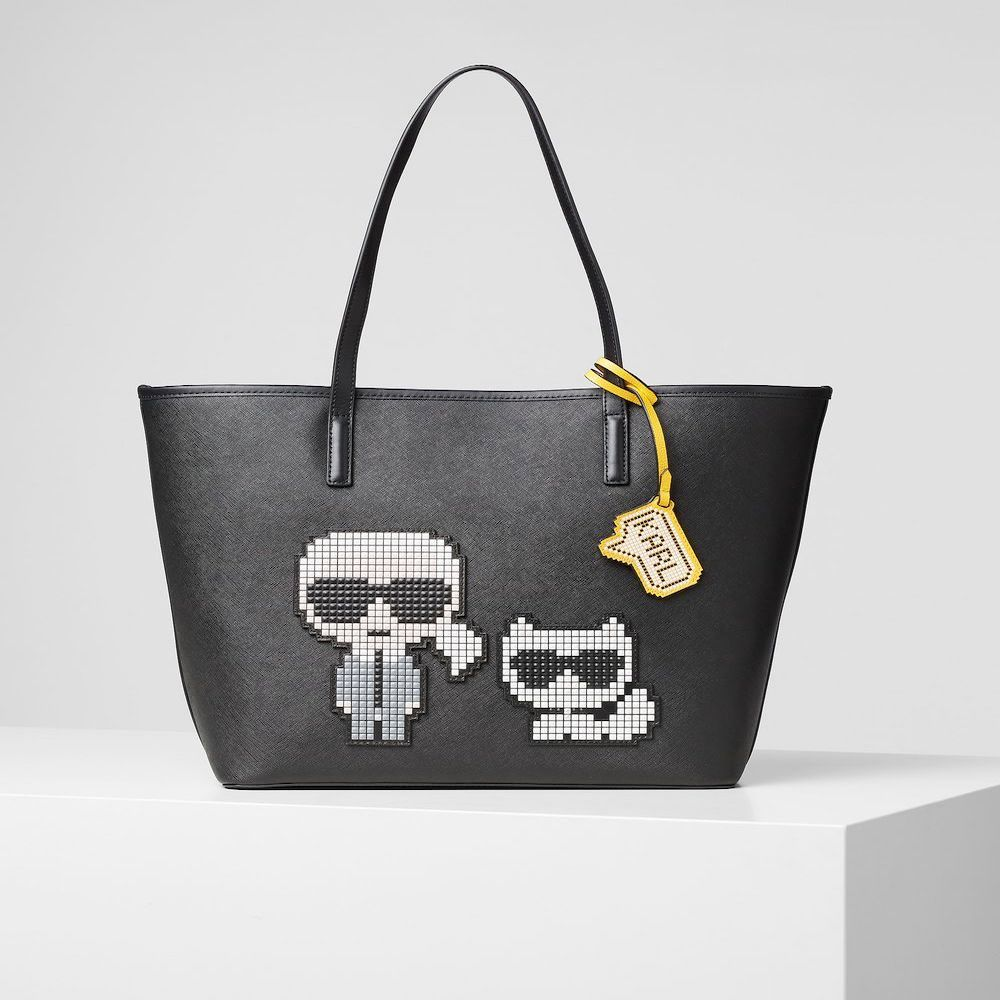 Bolso tote Karl Lagerfeld y Choupette 201W3126