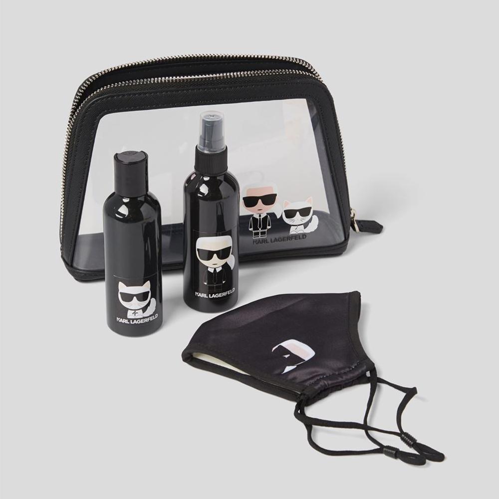 Neceser kit viaje con mascarilla Karl Lagerfeld 211W3916