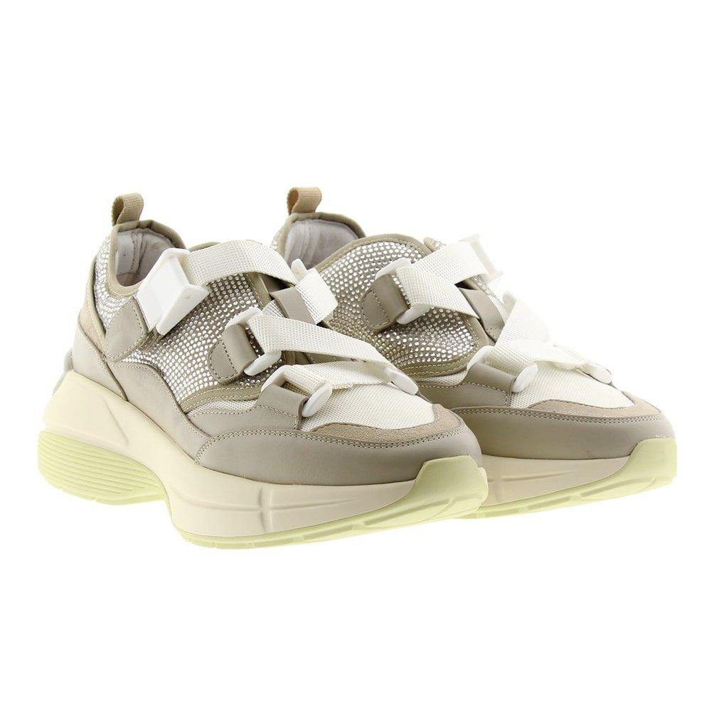 Zapatillas sneakers correas Lola Cruz 444Z00BK-I19