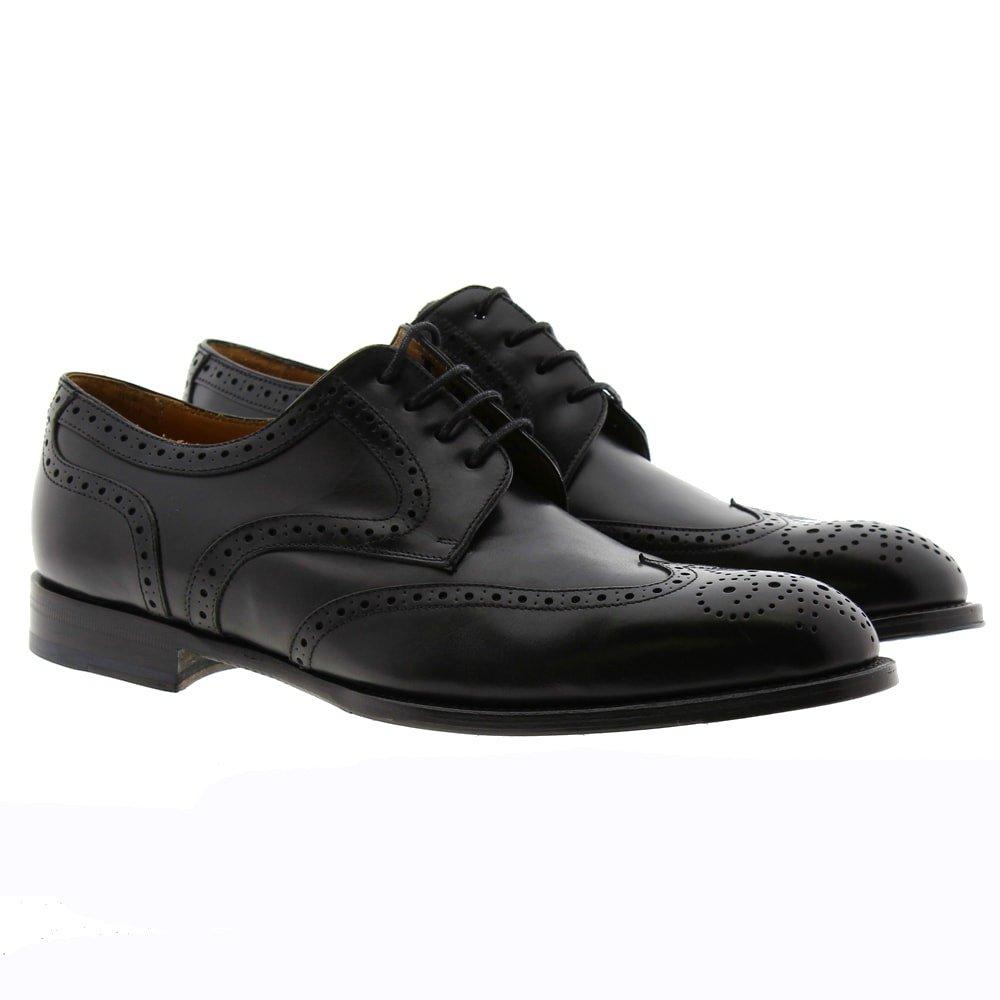 Zapato Oxford picado Calce 47 Negro