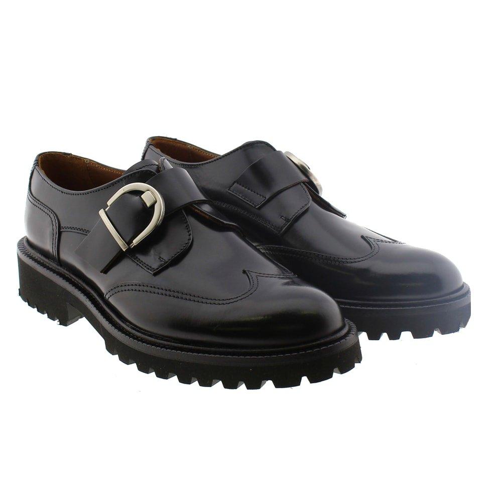 Zapato blucher hebilla mujer Calce 490-Sha