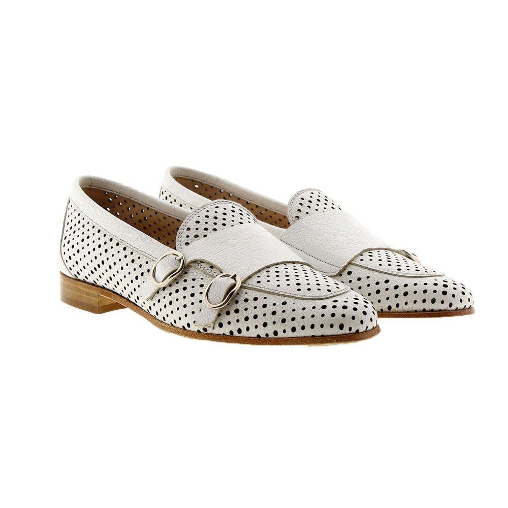 Loafers calado hebillas Calce 648