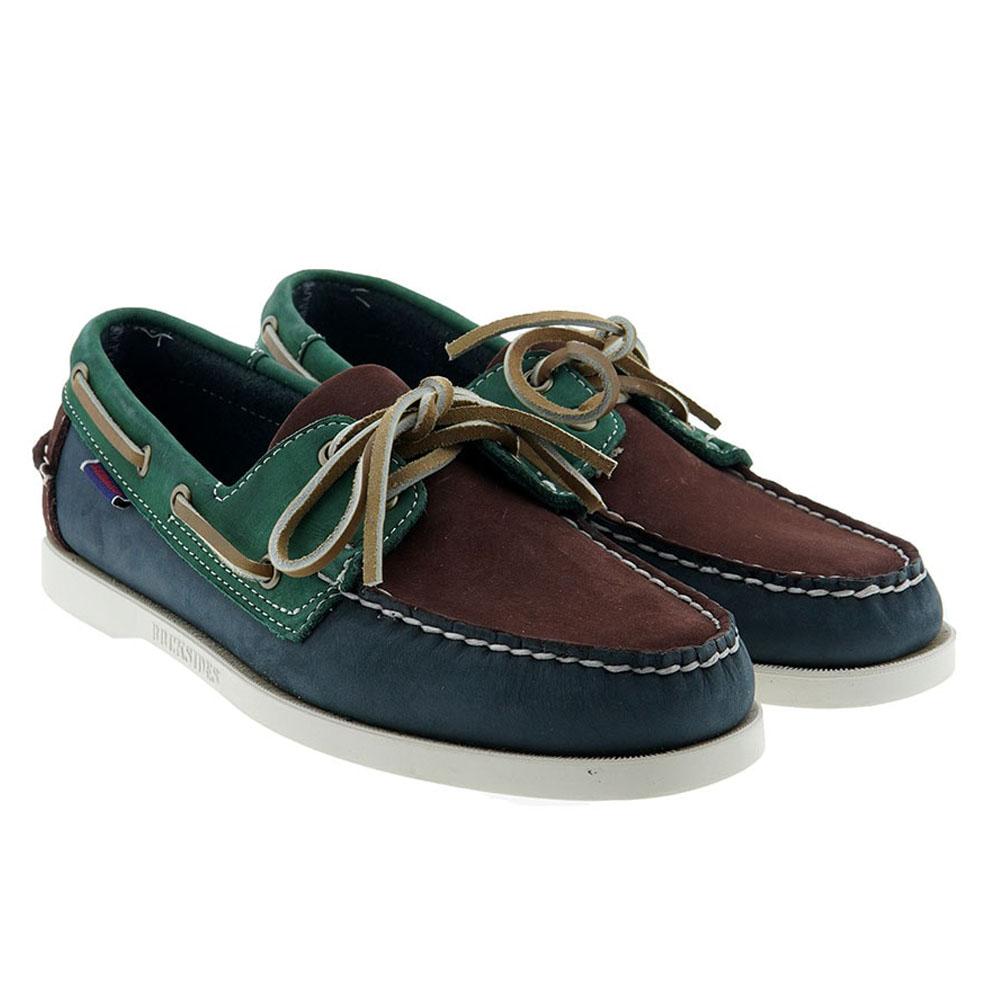 Zapato cordón náutico piel Sebago 7111PSW