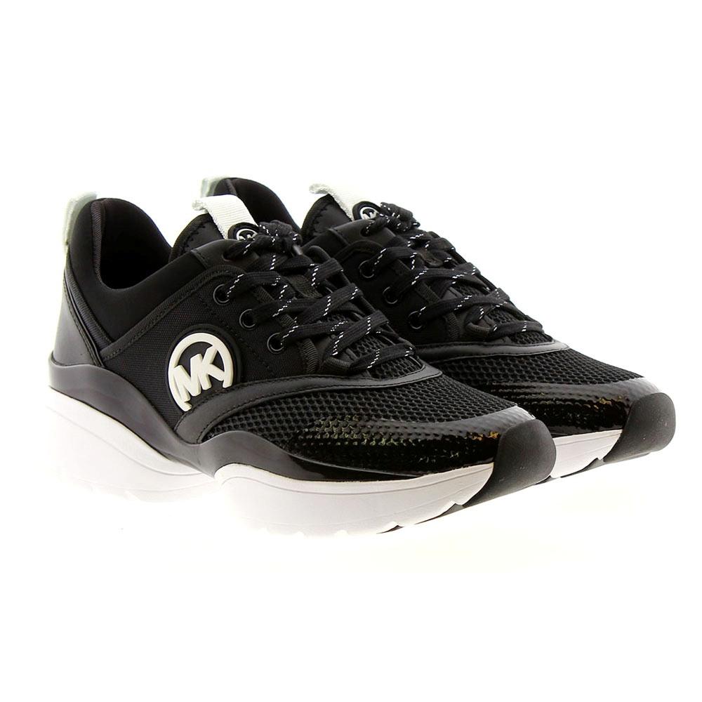 Zapatillas vestir mujer rejilla logo Michael Kors Charlie Trainer