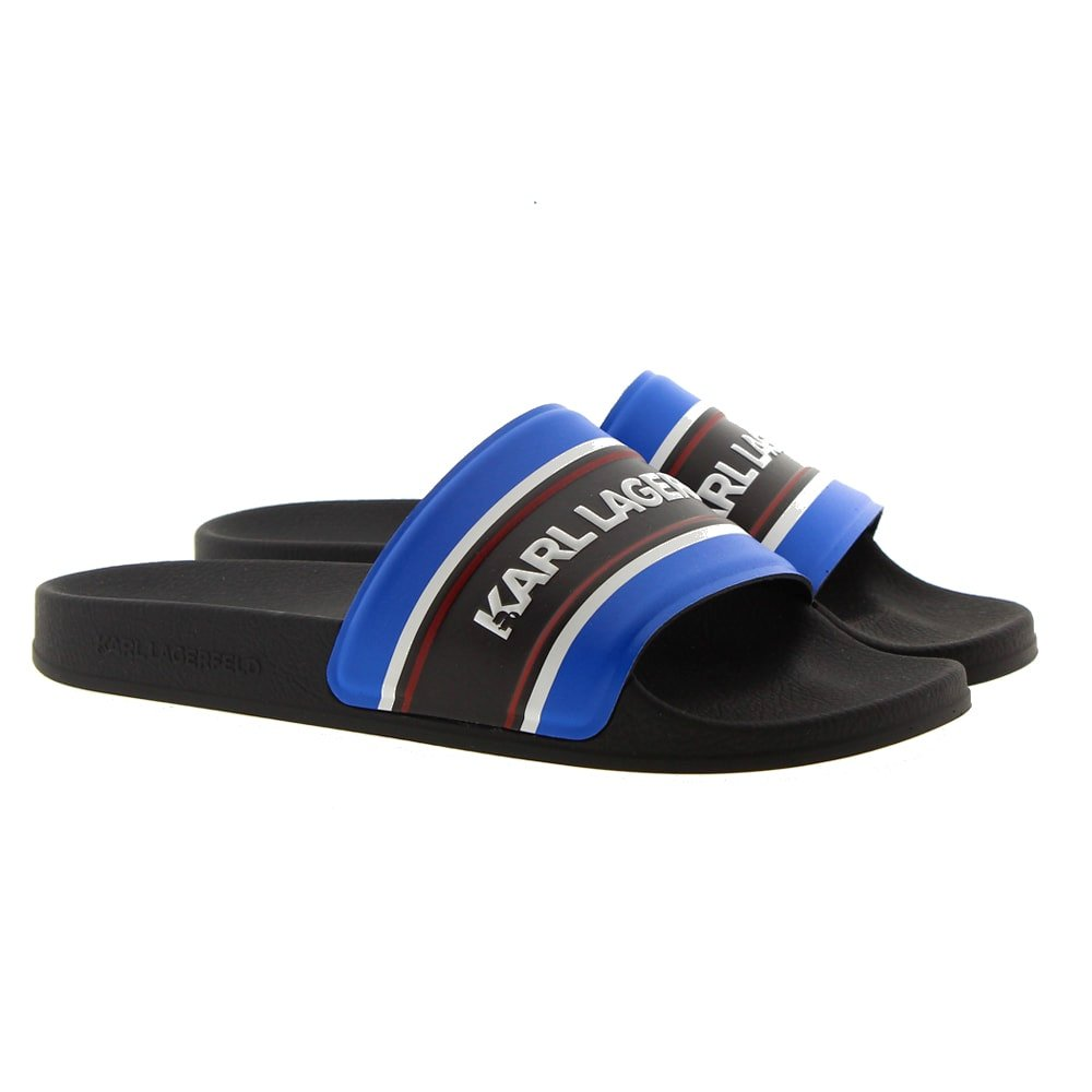 Karl Lagerfeld pala piscina hombre KL70006 Azul