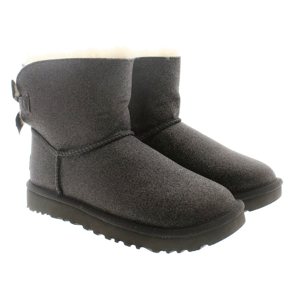 Botines brillantina furry Ugg Mini Bailey Bow