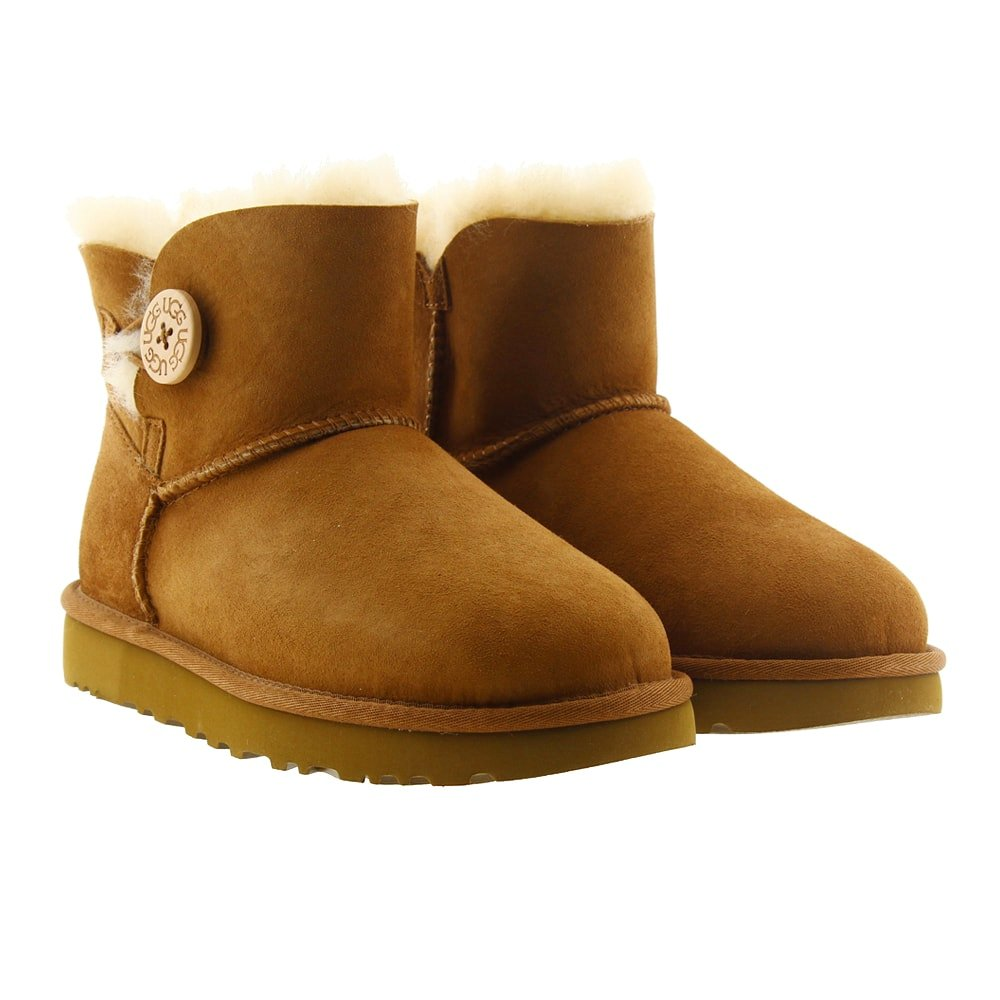 Botín corto Ugg Mini Bailey But Cuero