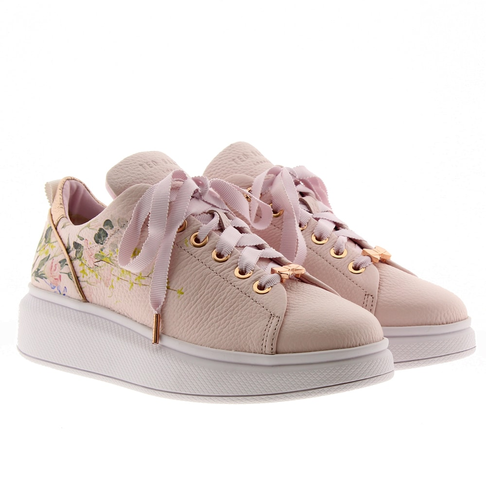 Deportivas flores piel Ted Baker Ailbe3