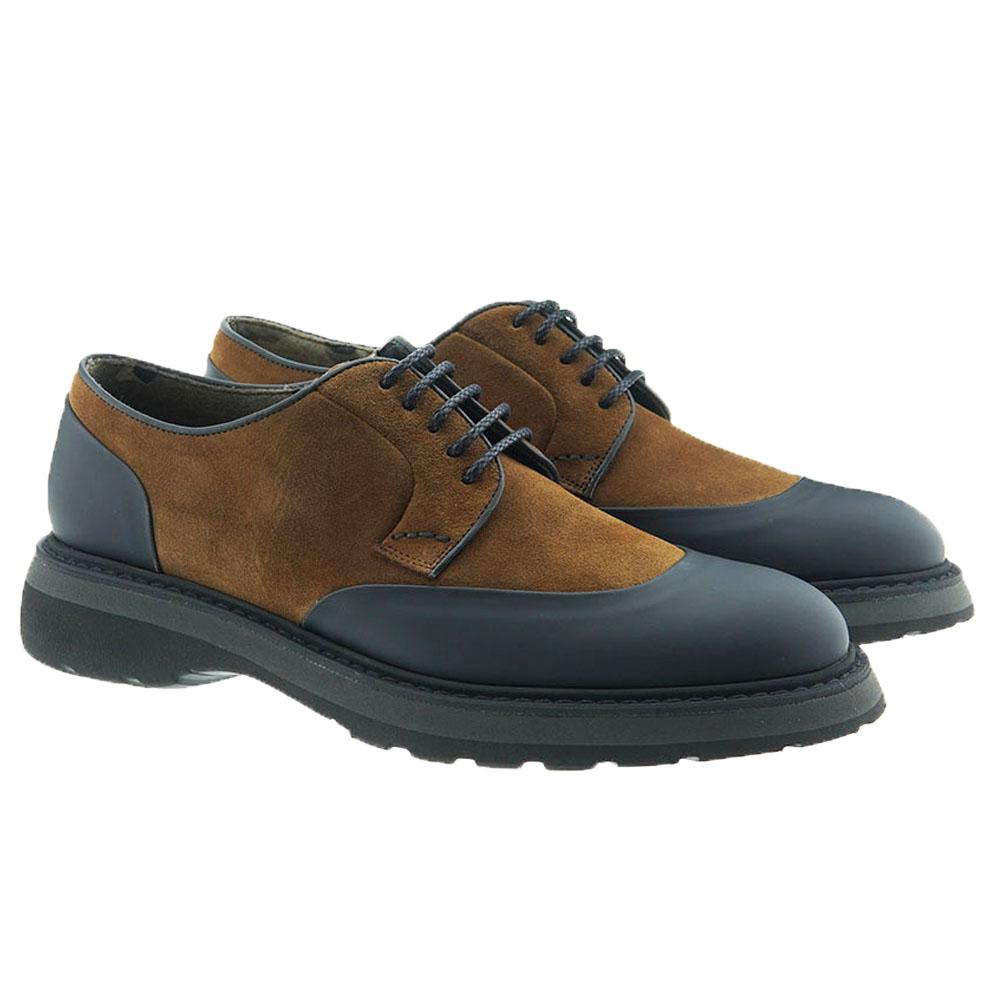 Zapato cordón ante puntera goma Calce X984